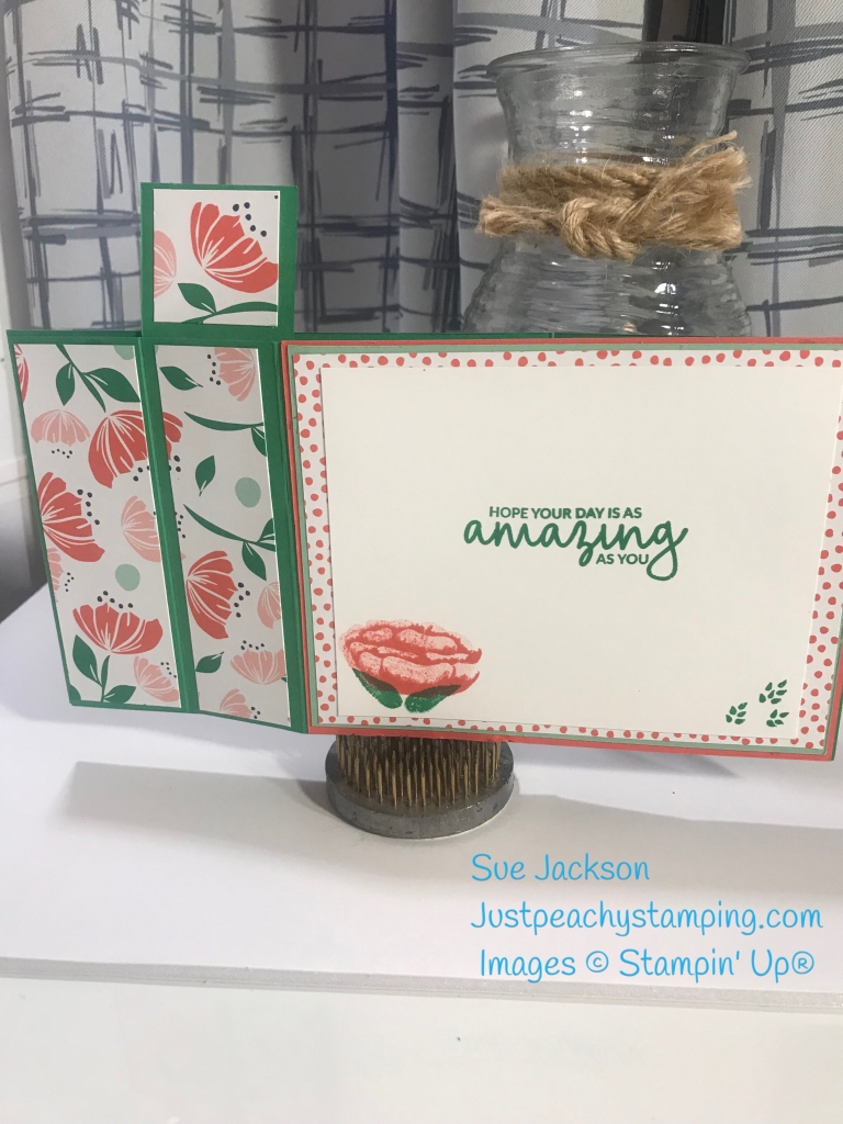 Bloom by Bloom Wiper Fold for the InKing Royalty Blog Hop